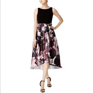 SLNY Floral High Low Dress Size 8